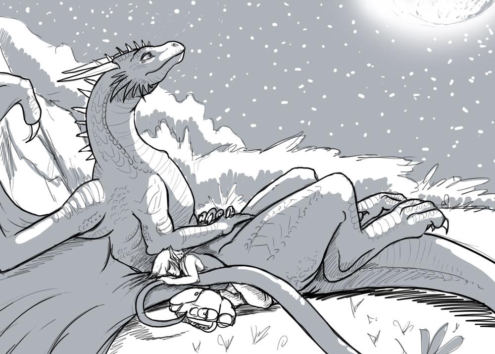 white female dragon porn