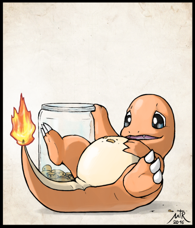 e926 belly charmander cookie dragon food mentalraven nintendo obese overweight pokémon pokémon_(species) slightly_chubby solo video_games weight_gain