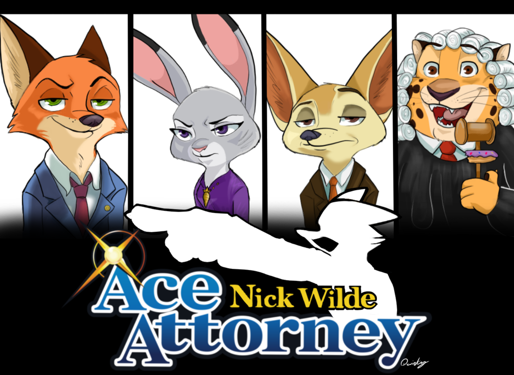 e926 2017 anthro benjamin_clawhauser canine cheetah disney feline female fennec finnick fox fur judy_hopps lagomorph male mammal multiple_images nick_wilde quirky-middle-child rabbit solo zootopia