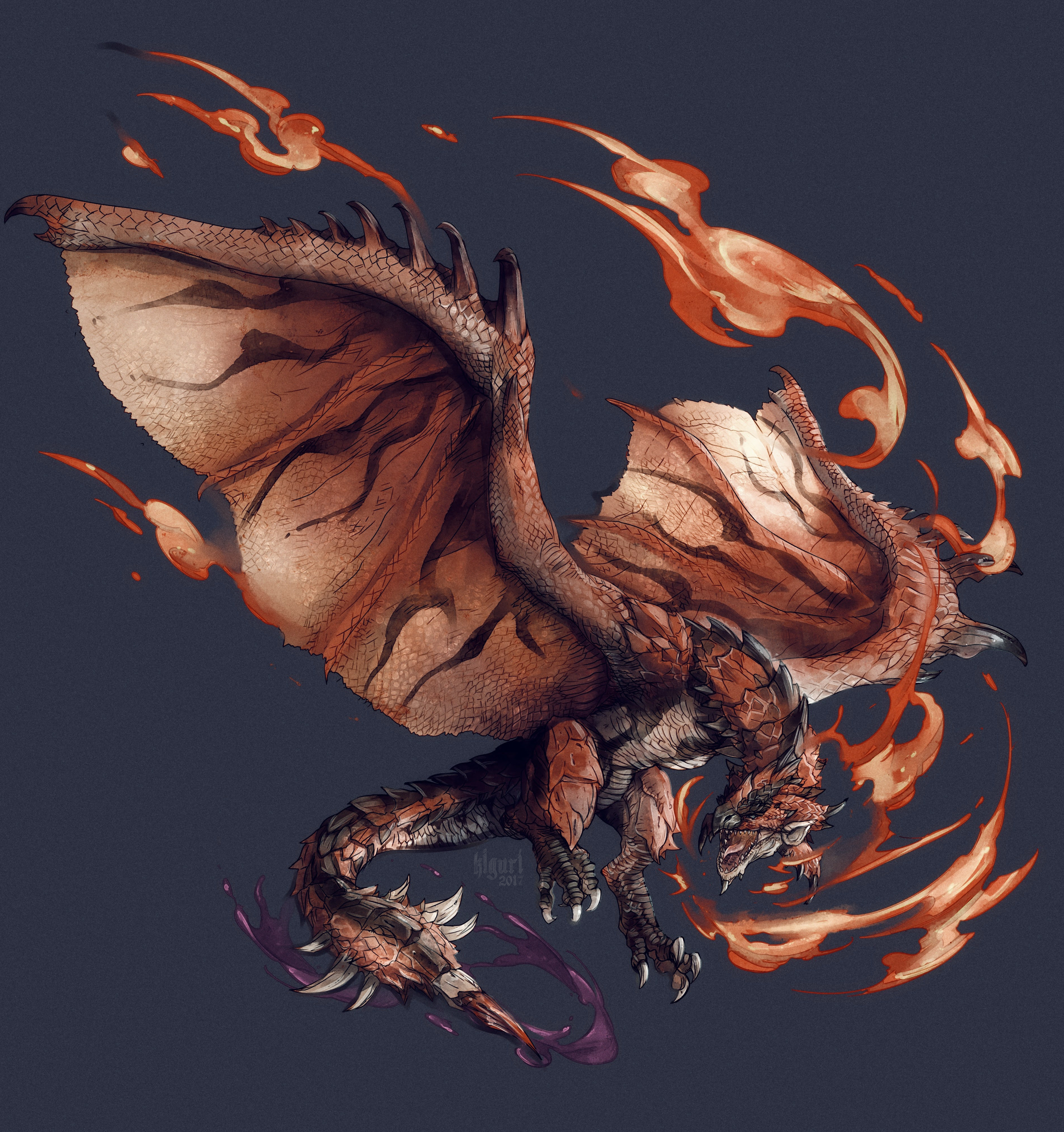 e926 2017 absurd_res alpha_channel ambiguous_gender capcom dragon feral hi_res kiguri membranous_wings monster_hunter open_mouth rathalos simple_background solo teeth tongue transparent_background video_games wings wyvern