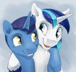 2017 duo equine erection eye_contact father feral friendship_is_magic hair horn male mammal my_little_pony night_light_(mlp) parent shining_armor_(mlp) silfoe simple_background smile son unicornRating: SafeScore: 2User: ConsciousDonkeyDate: June 24, 2017