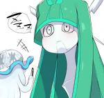 9999gpera ambiguous_gender celesteela duo frown green_hair hair humanoid humor long_hair marker nihilego nintendo pokémon simple_background size_difference sleeping ultra_beast video_games white_backgroundRating: SafeScore: 6User: ROTHYDate: March 23, 2017
