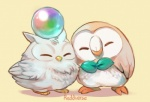ambiguous_gender avian barefoot beak bird crossover cute eyes_closed feathers feh feral fire_emblem fire_emblem_heroes happy nintendo nude orb owl pokémon reddverse rowlet simple_background smile standing video_games wings yellow_backgroundRating: SafeScore: 6User: ThisIsGospelDate: June 22, 2017