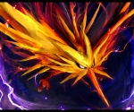 ambiguous_gender avian beak bird electricity legendary_pokémon nintendo pokémon pokémon_(species) solo talons tsurara_neko video_games wings yellow_body zapdos