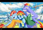 black_bars blue_feathers bow_hothoof_(mlp) clothed clothing cutie_mark daughter equine father father_and_daughter feathered_wings feathers female feral friendship_is_magic group hair husband_and_wife jowybean male mammal mother mother_and_daughter multicolored_hair my_little_pony open_mouth parent pegasus rainbow_dash_(mlp) rainbow_hair smile teeth tongue windy_whistles_(mlp) wingsRating: SafeScore: 3User: MillcoreDate: May 24, 2017