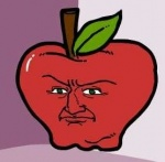 apple food fruit low_res male not_furry shmorky solo something_awful what why