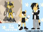 anthro canine clothed clothing coyote djcoyoteguy fan_character footwear gloves mammal ruben_(djcoyoteguy) shoes simple_background sonic_(series) sonic_forces video_games