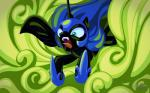 2017 armor blue_eyes cloud equine fangs female friendship_is_magic helmet horn mammal my_little_pony mysticalpha nightmare_moon_(mlp) slit_pupils solo winged_unicorn wings