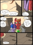 big_macintosh_(mlp) castle comic duo earth_pony equine feral friendship_is_magic hair horn horse mammal metal_(artist) my_little_pony pony sun twilight_sparkle_(mlp) unicorn
