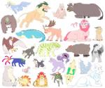 ? absurd_res antlers arslan ashigara asterios avian bathym bear bird black_nose blue_eyes blue_fur blue_skin bovine brown_feathers brown_nose brown_stripes cain canine caprine cat cervine chain chernobog claws coat crocodilian cusith deer eagle facial_piercing feathers feline fenrir feral feralized fox fur gandharva garmr goat green_eyes green_mane green_stripes grey_eyes grey_fur hair hakumen headband hi_res horkeukamui horn howl hybrid jambavan kemono lion lying magan makara male mammal manzanaringopai markings moritaka multi_tail nomad nose_piercing nose_ring nyarlathotep open_mouth orange_eyes piercing pink_eyes pink_nose purple_fur red_eyes red_hair reindeer reptile scalie scar scarf sharp_teeth simple_background sitri smile snow_(tas) striped_fur stripes teeth temujin tiger tokyo_afterschool_summoners white_background white_fur wings wolf yellow_eyes youl