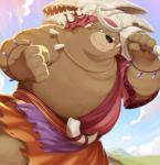 2018 anthro bear belly brown_fur dagger_(sdorica_sunset) fur hinami0506 male mammal overweight overweight_male sdorica_sunset soloRating: SafeScore: 2User: mapachitoDate: May 25, 2018