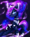 blue_eyes blue_fur cosmic_hair cutie_mark detailed_background equine eyelashes feathered_wings feathers female feral friendship_is_magic fur hooves horn looking_at_viewer magnaluna mammal my_little_pony princess_luna_(mlp) smile solo space winged_unicorn wingsRating: SafeScore: 13User: MillcoreDate: January 05, 2017