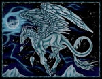 claws dragon feathered_dragon feathered_wings feathers feral flying moon night selianth solo wings zarillianRating: SafeScore: 4User: MillcoreDate: March 31, 2017