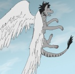 canine cloud cloudscape dragon feathered_wings feathers feral fur furred_dragon hybrid leo_kinoske leo_kinoske_(character) male mammal outside sky solo unknown_artist wings wolfRating: SafeScore: -6User: Leo_KinoskeDate: September 24, 2010