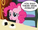badumsquish blue_eyes dialogue english_text equine female friendship_is_magic hi_res horse mammal my_little_pony onigiri pinkie_pie_(mlp) pony riceball text
