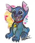 2013 4_fingers alien back_markings blue_claws blue_eyes blue_fur blue_nose blue_pawpads claws collar colored_sketch disney experiment_(species) fur head_tuft hi_res kiwi_(pixiv_8031786) lilo_and_stitch markings notched_ear open_mouth open_smile pawpads signature sitting small_tail smile solo stitch tuftRating: SafeScore: 3User: BooruHitomiDate: May 26, 2018