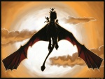 2008 ambiguous_gender anthro brown_theme cloud cloudscape draco_(dragonheart) dragon dragonheart emeraldsage feral flying group membranous_wings outside scalie sky warm_colors wingsRating: SafeScore: 1User: TauxieraDate: July 01, 2010