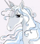 amalthea equine female feral headshot_portrait hooves horn mammal portrait solo the_last_unicorn unicorn verodaherRating: SafeScore: 4User: TauxieraDate: October 31, 2009