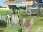 anthro barefoot building cat clothed clothing comic english_text faf farm feline fence flower house male mammal milo_(catastrophe) outside plant plantigrade solo text