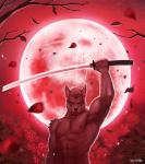 2015 5_fingers abs anthro biceps canine detailed_background flower front_view full_moon half-length_portrait hi_res holding_object holding_weapon leaves looking_at_viewer male mammal melee_weapon moon muscular muscular_male nipples pecs petals plant portrait raccoon21 red_eyes red_sky red_theme rose shiny signature sky solo standing star starry_sky sword tree weapon wolfRating: SafeScore: 21User: Cash_BanoocaDate: June 30, 2016