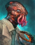 alexander_nanitchkov arthropod claws crab creepy crustacean decapodian doctor_zoidberg futurama humanoid male marine nightmare_fuel realistic solo starfish tentacles what