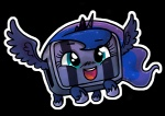 alpha_channel alternate_species balrog_(cave_story) blue_eyes blue_feathers blue_hair blue_skin cave_story crossover crown equine feathered_wings feathers female friendship_is_magic hair horn hybrid living_machine machine mammal my_little_pony princess_luna_(mlp) simple_background smile soap solo tiara transparent_background unknown_species video_games winged_unicorn wings zicygomarRating: SafeScore: 25User: SuinederDate: August 28, 2013