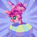 2017 cutie_mark earth_pony equine female feral friendship_is_magic fur hair horse mammal my_little_pony open_mouth pink_fur pink_hair pinkie_pie_(mlp) pony solo thediscorded