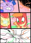 ?! battle big_macintosh_(mlp) comic duo earth_pony equine eyes_closed feral friendship_is_magic glowing hair horn horse magic mammal metal_(artist) meteor my_little_pony pony tears twilight_sparkle_(mlp) unicornRating: SafeScore: 0User: IndigoHeatDate: March 25, 2017