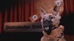 adolf_hitler ambiguous_gender animated canine danger_5 dog duo english_text flag german_text human humor low_res male mammal nazi nazi_flag real text translated unknown_artistRating: SafeScore: 11User: GayboibunnyDate: March 09, 2013