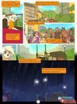 2018 anthro avian bear bird blue_eyes caprine cat comic day detailed_background digital_media_(artwork) english_text estella_(zummeng) evie_(zummeng) feline female goat group mammal night outside raining sky text zummengRating: SafeScore: 9User: MillcoreDate: April 19, 2018