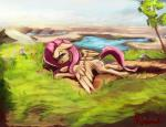 2017 angry cutie_mark equine feathered_wings feathers female fluttershy_(mlp) friendship_is_magic hair long_hair looking_at_viewer mammal miokomata my_little_pony outside pegasus pink_hair solo wingsRating: SafeScore: 4User: lemongrabDate: May 27, 2017