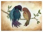 <3 ambiguous_gender avian beak bird branch cute duo feral on_branch pattern stylized vampirexpenguinRating: SafeScore: 0User: AnomynousDate: August 30, 2009