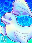 ambiguous_gender blue_theme close-up cute dewgong digital_magician digital_media_(artwork) feral fin horn looking_at_viewer nintendo nude pokémon sharp_teeth smile solo swimming teeth video_games waterRating: SafeScore: 2User: ThisIsGospelDate: August 20, 2017