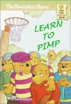 anthro baseball_cap basketball basketball_(ball) basketball_hoop beanie bear berenstain_bears book bow bully female first_time_books group hair_bow hair_ribbon hat holding_ball humor low_res male mammal pimp ribbons sister_bear title tree unknown_artist wood