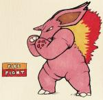2016 3_fingers 3_toes ambiguous_gender anthro biped black_eyes claws ears_back english_text fakémon fangs fighting_stance fire firefightdex frown full-length_portrait hatching_(technique) horn marker_(artwork) mfanjul mixed_media nidorino nintendo pen_(artwork) pokémon pokémon_(species) portrait purple_body purple_horn red_body red_spots scalie shadow side_view simple_background solo spots spotted_body standing text toe_claws toes toony traditional_media_(artwork) two_tone_body video_games white_background white_clawsRating: SafeScore: 2User: DiceLovesBeingBlownDate: March 17, 2018
