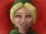 4:3 ben_(loz) ben_drowned creepy creepypasta elegy_of_emptiness graveyardshift hi_res human humanoid hylian link majora's_mask male mammal nightmare_fuel nintendo not_furry red_eyes sculpture solo statue the_legend_of_zelda video_games