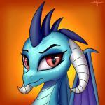 2017 absurd_res digital_media_(artwork) dragon dragon_wings friendship_is_magic hi_res horn looking_at_viewer my_little_pony princess_ember_(mlp) scalie setharu solo wingsRating: SafeScore: 4User: lemongrabDate: February 18, 2018