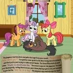 apple apple_bloom_(mlp) apple_tree bitterplaguerat earth_pony equine feathers food friendship_is_magic fruit horn horse interrogation loki_(bitterplaguerat) mammal my_little_pony pegasus pony rope scootaloo_(mlp) sweetie_belle_(mlp) text tree wingsRating: SafeScore: -2User: Aryanne_HooflerDate: April 25, 2017