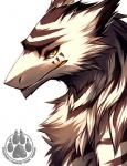 ambiguous_gender anthro byakurai_tora digital_media_(artwork) falvie fur mammal sergal simple_background solo stripes white_background yellow_eyesRating: SafeScore: 71User: xXK1T5UN3XxDate: April 10, 2012