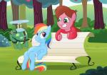 2013 alternate_species animated bench blue_feathers blue_fur braces brown_hair clothing crossover cutie_mark disney duo equine eyewear feathered_wings feathers female feral friendship_is_magic fur goggles gravity_falls green_eyes hair low_res mabel_pines mammal markmak multicolored_hair multicolored_tail my_little_pony outside pegasus plant ponification purple_eyes purple_fur rainbow_dash_(mlp) rainbow_hair rainbow_tail reptile scalie shrub sitting smile sweater tank_(mlp) tortoise tree turtle wingsRating: SafeScore: 5User: Nicklo6649Date: June 19, 2018