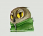 2017 anthro avian beak bird bust_portrait clothed clothing dymos_(daemondymos) english_text hoodie looking_at_viewer male owl panzery25 portrait signature simple_background solo text white_background yellow_sclera zipperRating: SafeScore: 2User: JAKXXX3Date: July 01, 2017