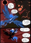 comic duo eclipse equine feathers feral flying friendship_is_magic hair horn magic mammal metal_(artist) monster my_little_pony princess_luna_(mlp) silhouette winged_unicorn wingsRating: SafeScore: 1User: IndigoHeatDate: March 23, 2017