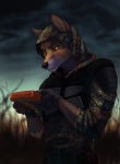 5_fingers anthro armor black_nose brown_eyes brown_fur camo canine claws clothed clothing coyote fingerless_gloves flecktarn fox frown fur furgonomics gearbox gloves gloves_(marking) half_portrait holding_object hood hybrid koul male mammal markings outside s.t.a.l.k.e.r. solo video_games yellow_scleraRating: SafeScore: 41User: Hardstyle_ChrisDate: November 01, 2013