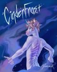 5_fingers anthro blonde_hair blue_eyes ciel_(cinderfrost) cinderfrost comic cover cover_page demicoeur digital_media_(artwork) ears_back english_text equine eyebrows fur hair half-length_portrait hi_res horn looking_at_viewer looking_back male mammal markings multicolored_fur nude portrait short_hair solo text unicornRating: SafeScore: 31User: DeservantHurricaneDate: April 14, 2017