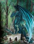 ambiguous_gender claws day detailed_background digital_media_(artwork) dragon feral horn krisbuzy membranous_wings outside scalie solo spines western_dragon wingsRating: SafeScore: 11User: MillcoreDate: March 18, 2018