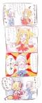 4koma animal_humanoid blonde_hair blue_eyes canine comic duo female firefox fox fox_humanoid hair humanoid japanese_text mammal sweat text the_more_you_know thunderbird translated unknown_artistRating: SafeScore: 1User: Kitsu~Date: June 14, 2009