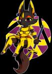 actionbastardvirginblstr ankh anthro armor black_fur breasts canine claws cute ear_piercing egyptian eyeshadow female fox fur looking_at_viewer makeup mammal piercing purple_eyes sitting smile solo staffRating: SafeScore: 0User: OccamDate: July 24, 2017