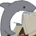 aliasing alpha_channel ambiguous_gender animated black_eyes computer fail feral fish humor low_res marine saliva shark simple_background solo teeth transparent_background unknown_artistRating: SafeScore: 141User: Test-Subject_217601Date: May 10, 2012