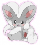 ambiguous_gender big_ears blush chinchilla cinccino cute featureless_crotch fluffy fur grey_eyes hair hair_tuft inner_ear_fluff long_hair long_tail looking_at_viewer mammal nintendo open_mouth pawpads paws pokémon pokémon_(species) rodent simple_background sitting solo spread_legs spreading video_games white_background yata-nepiaRating: SafeScore: 53User: NeitsukeDate: April 25, 2011