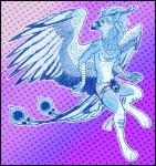 anthro antlers avian azure_(o0aquadragon0o) clothing feathers gryphon hi_res horn jewelry loincloth male necklace o0aquadragon0o runes simple_background sketch smile solo wingsRating: SafeScore: 2User: o0AquaDragon0oDate: July 22, 2017